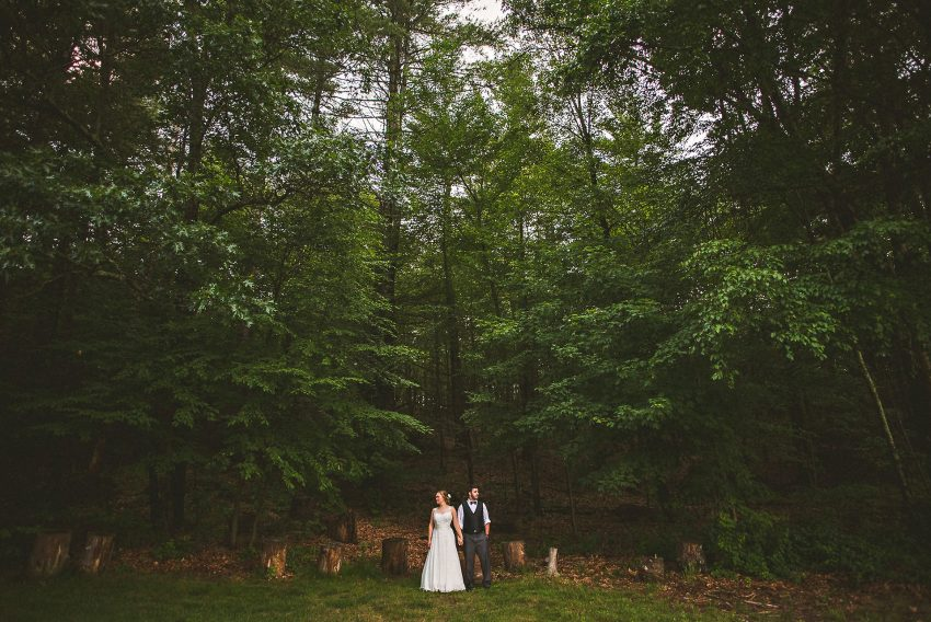 Camp wedding photography