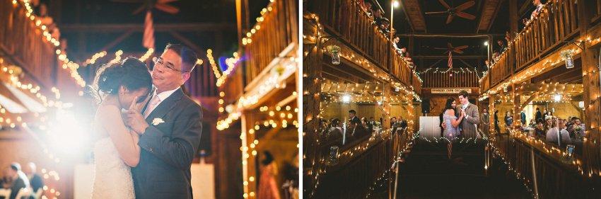 Smith Barn wedding reception