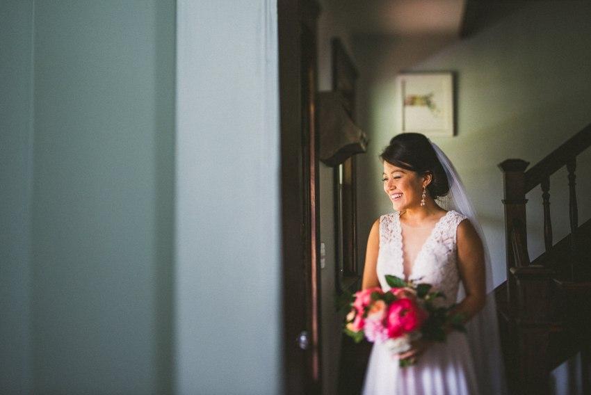 Plymouth bridal portrait