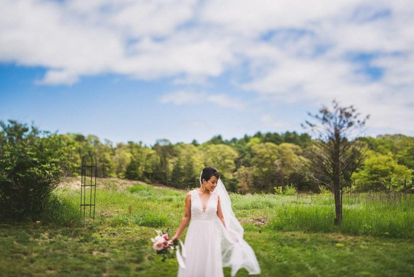 White cliffs country club wedding bridal portraits