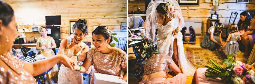 Rhode Island backyard wedding preparation