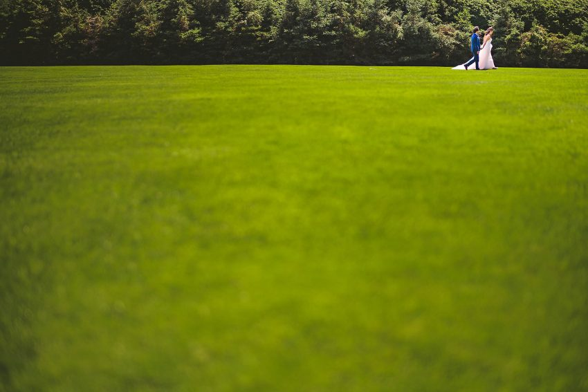 Wedding photos at Tanglewood