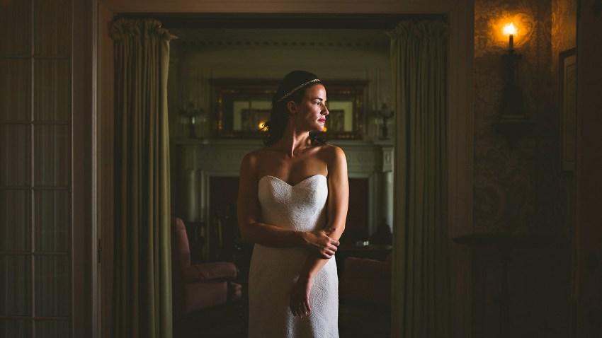 Moody Seranak bridal portrait