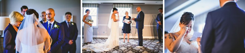 Emotional Ocean Edge resort wedding ceremony