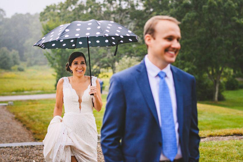 Codman Estate wedding first look