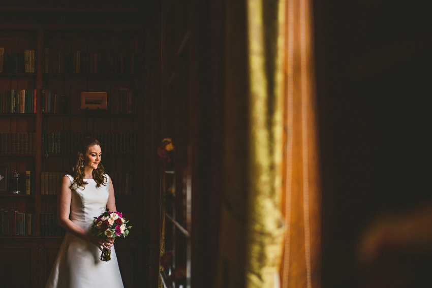 Moody Hampshire House bridal portrait