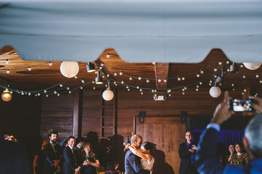 First dance in Codman Estate Carriage House