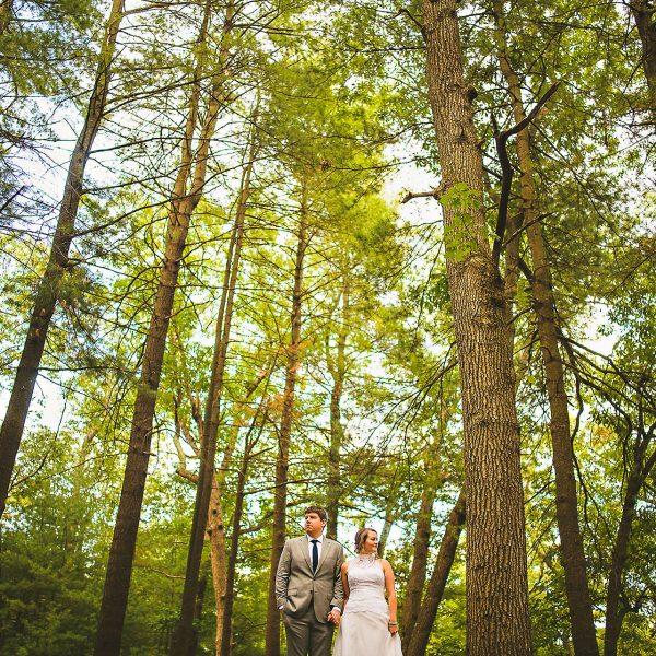 Epic Prospect Park wedding picture