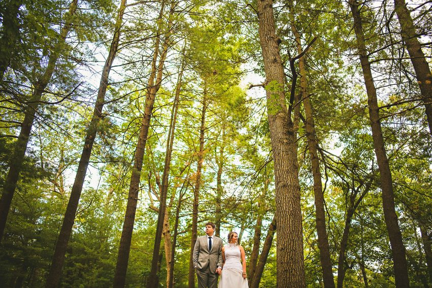 Epic Prospect Park wedding picture
