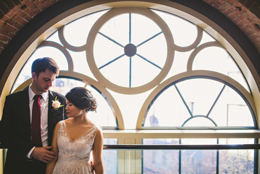 Liberty Hotel wedding portraits