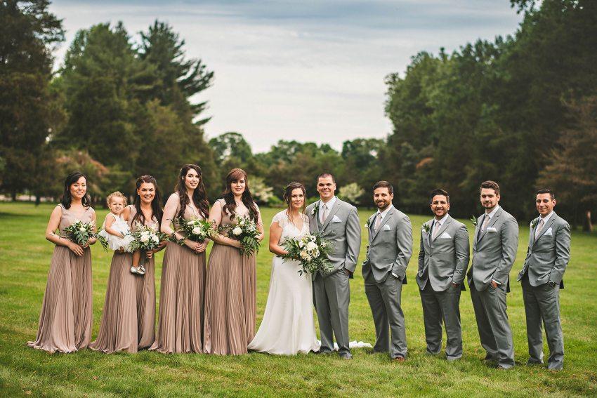 Connecticut wedding party