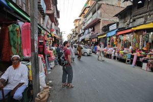- A photo of myself captivated by the vibrant markets of Srinagar Kashmir -