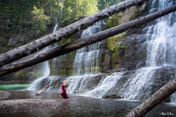 Lower Falls Gifford Pinchot National Forest Alex Pullen Photography-3570