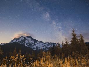 Milky Way Mt Shuksan Alex Pullen Photography