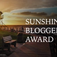 Awards/Notifications - Sunshine Blogger Award