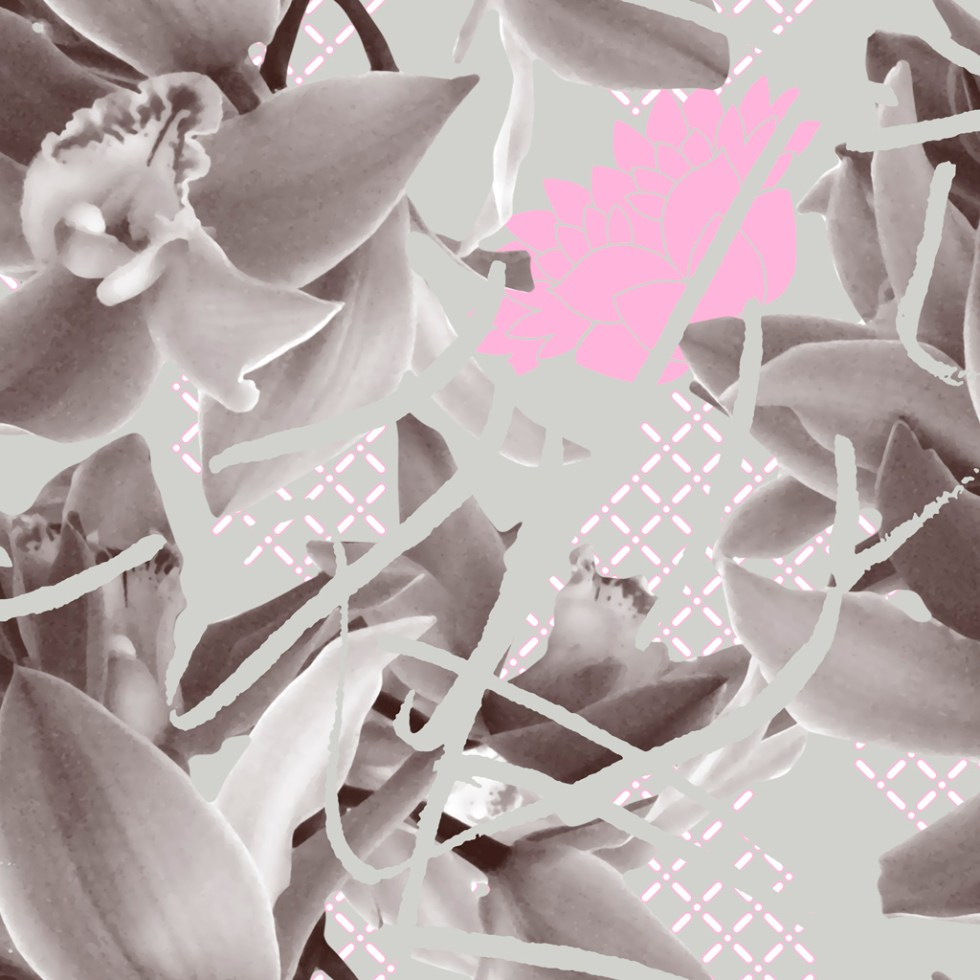 Pattern and print design OrchidDiagonal (aram0914) by Alex Russell