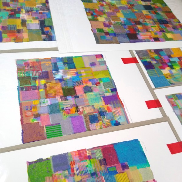 Image 14 of the development of ApeiroPattern generative art collection A Scheme Not Of This World by Alex Russell