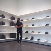 Allen-Onyia-Lanvin-Polo-Shirt-Balmain-Wax-Panelled-Jeans-Bottega-Chelsea-Boots