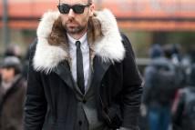 ID on Fur Jacket