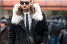 ID on Fur Jacket