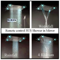 pen Rain Water Style Shower in open Bathroom 2