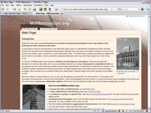 Millrenovation Wiki
