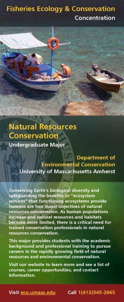 Natural Resources Conservation Flyer