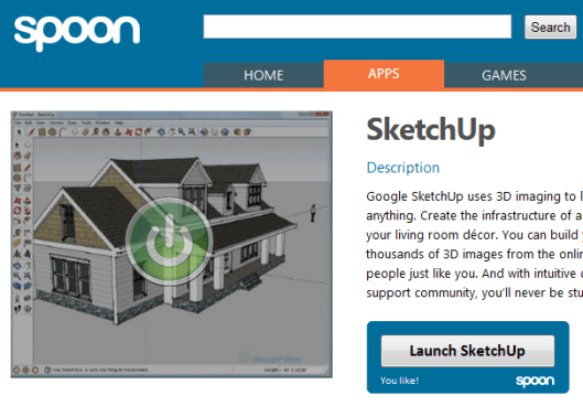 SketchUp on Spoon