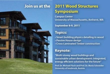 Wood Structures Symposium 2011 Postcard