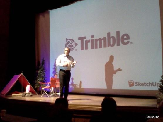 Trimble Sector VP Bryn Fosburgh speaks