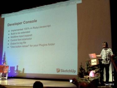 """""""Developer Console"""" details"""