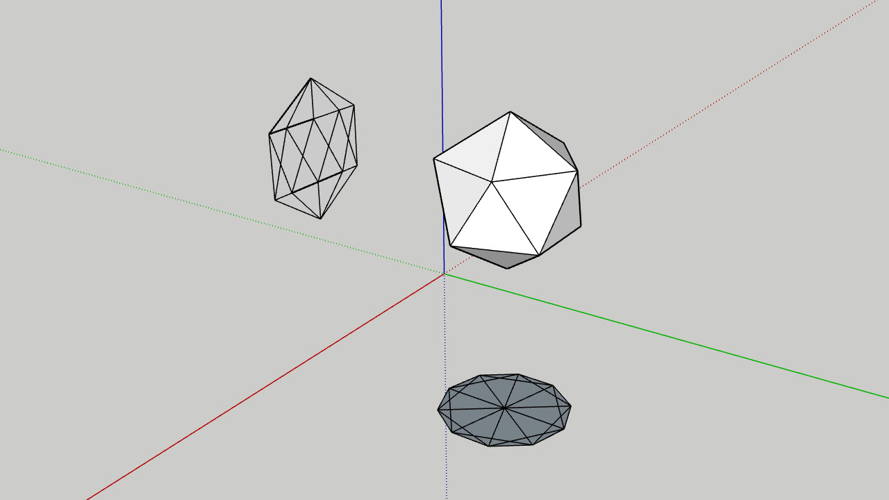 Unwrap and Flatten Faces Extension for SketchUp