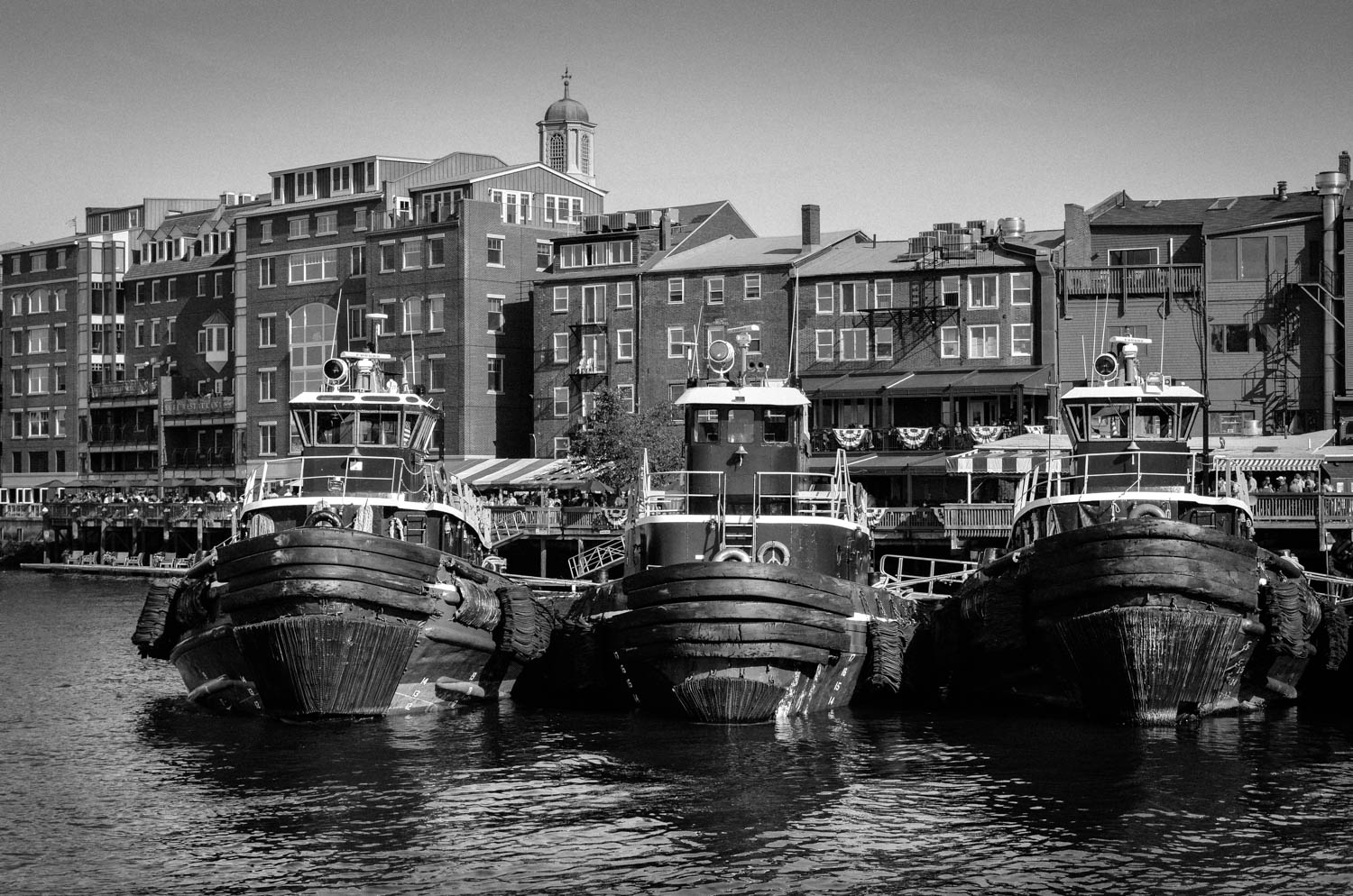 Tugs in Portsmouth harbor