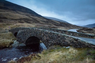 Bridge in the highlands
