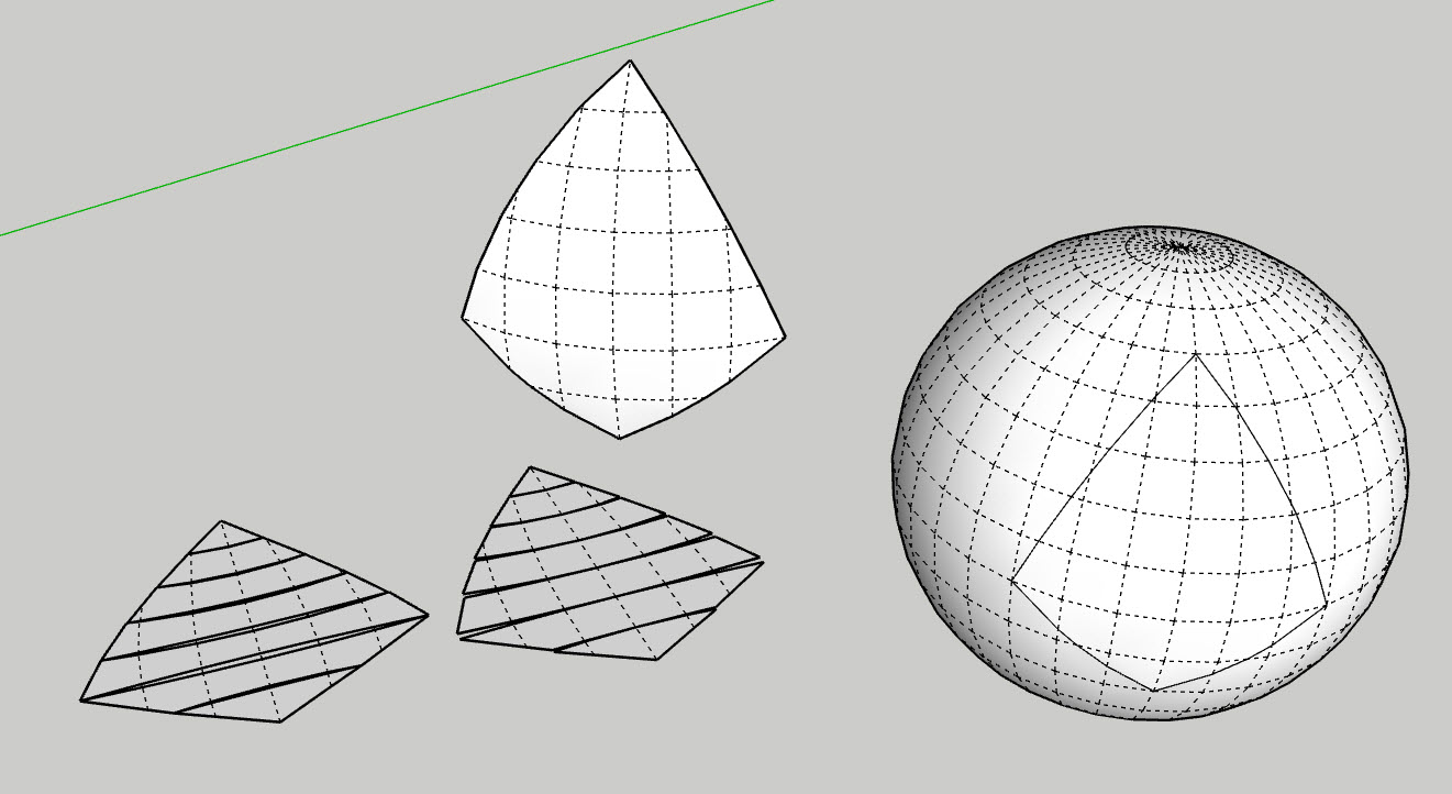 Unwrapping and unfolding correctly in SketchUp – by [as]