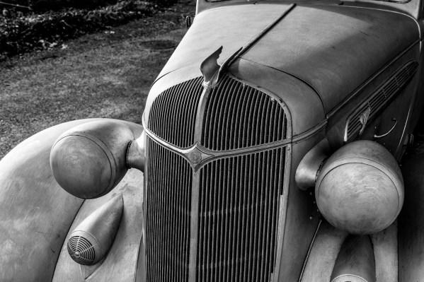 The car at the deCordova