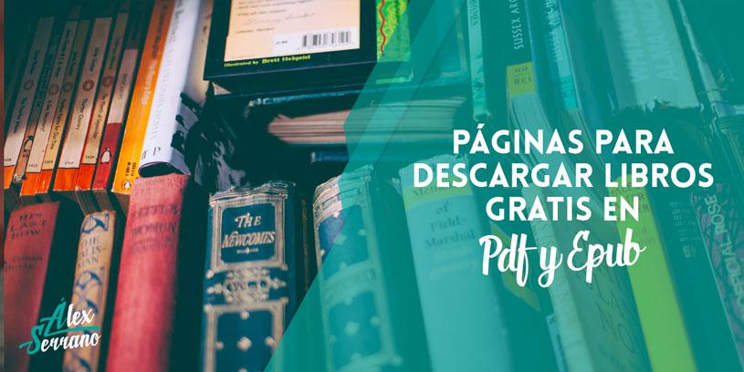 Páginas Descargar Libros En PDF Y Epub GRATIS Sin Registrarse