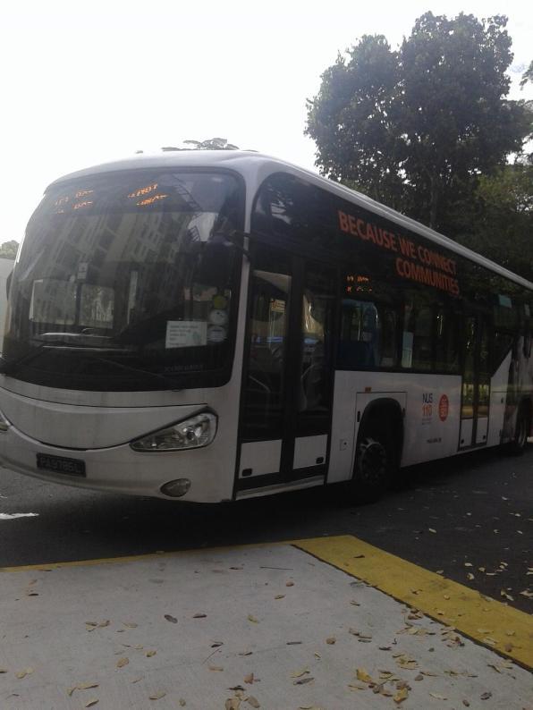 So this is what internal bus is like - comfortable, rapid, reliable! Вот такой удобный, быстрый и надежный внутренний автобус!