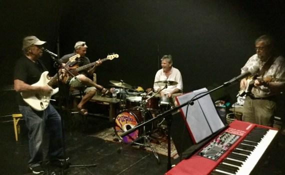 Purple Rock band practice