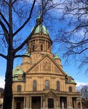 Neo-Baroque Protestant Christ Church Mannheim