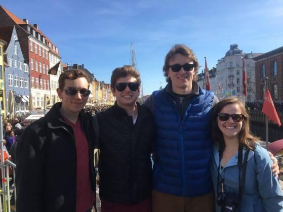 The crew on Nyhavn