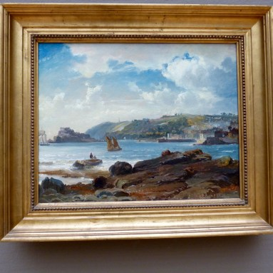 View on the Island of Guernsey by Carl Frederik Sørensen