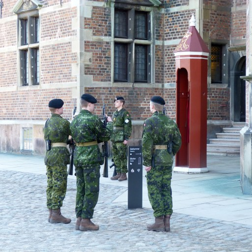 Changing of the Guards at Rosenborg