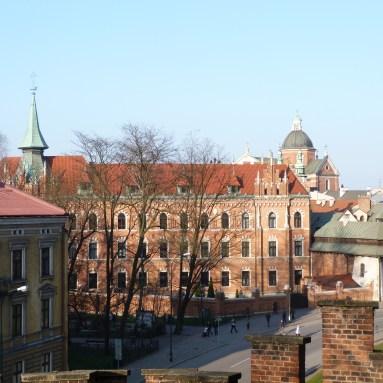 View from Wawel Castle