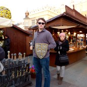 In the Easter Market!
