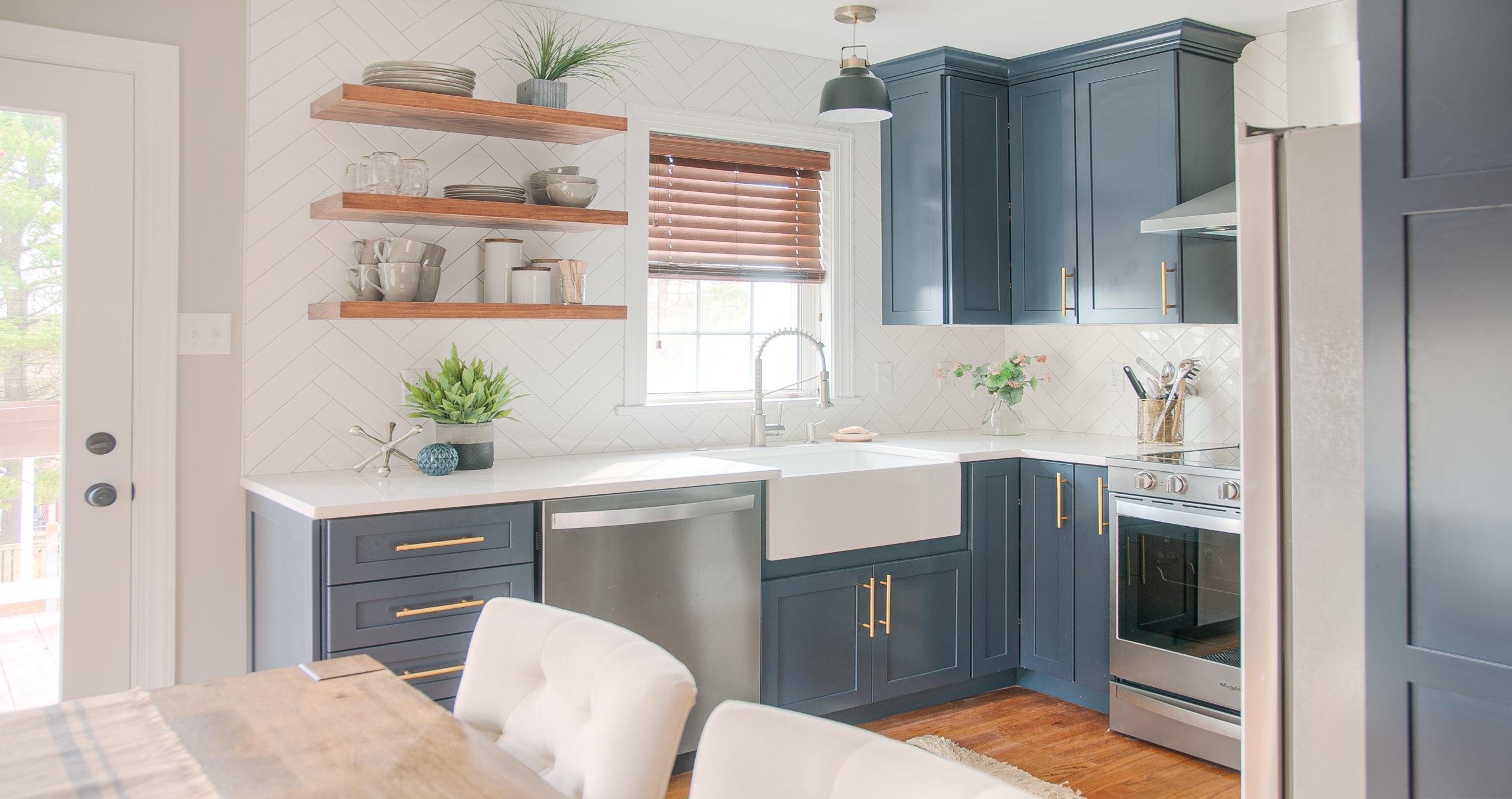 homes kitchen and bathroom updates