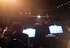 Alex at the helm of Spamalot, May 2014. Photo by Shawn Baptista.