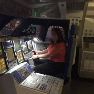 Alex Trenoweth commands a Space Shuttle!