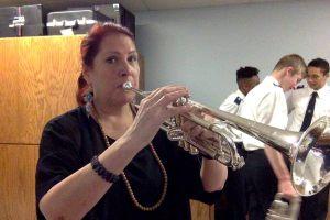 Alex Trenoweth and Trumpet