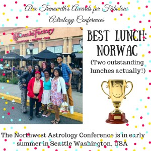 NORWAC Alex TrenowethConference Awards